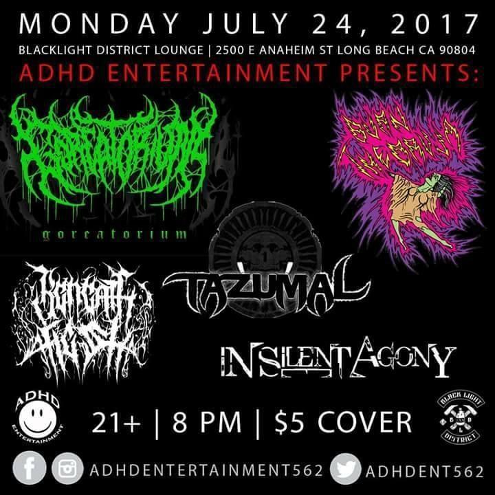 Tazumal (Official) Tour Dates