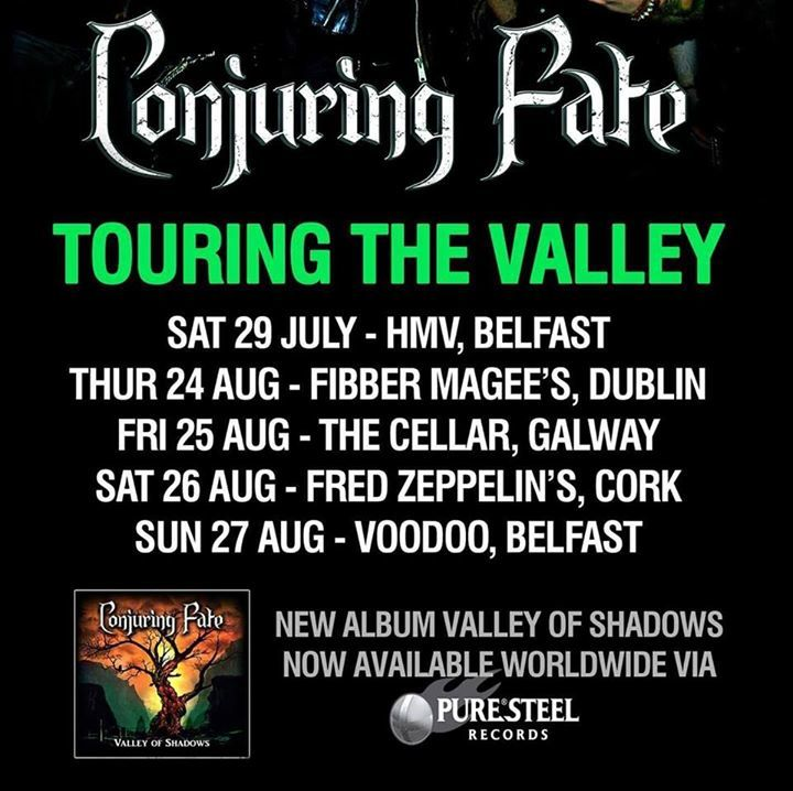 Conjuring Fate @ The Cellar - Galway, Ireland