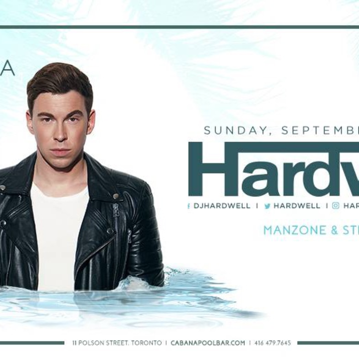 Manzone & Strong @ Cabana Pool Bar with HARDWELL - Live To Air 3pm-7pm on Z103.5FM #DayLifeSundays - Toronto, Canada
