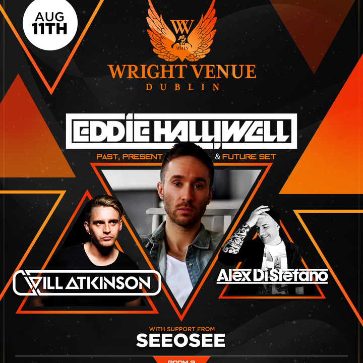 Eddie Halliwell @ The Wright Venue - Dublin, Ireland
