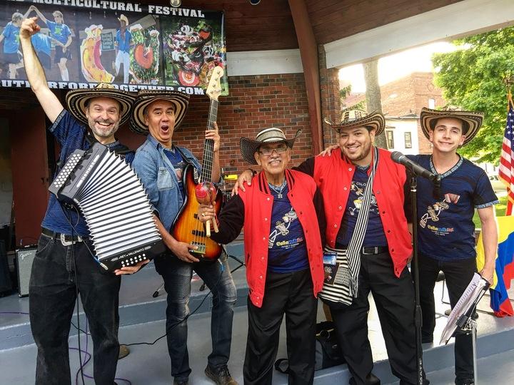 Viva Vallenato Cumbia Badass Accordion Band @ Johnson Public Library - Hackensack - Hackensack, NJ