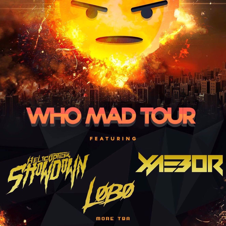 LøBø @ Who Mad Tour w/ Hellicopter Showdown & Xaebor - Detroit, MI