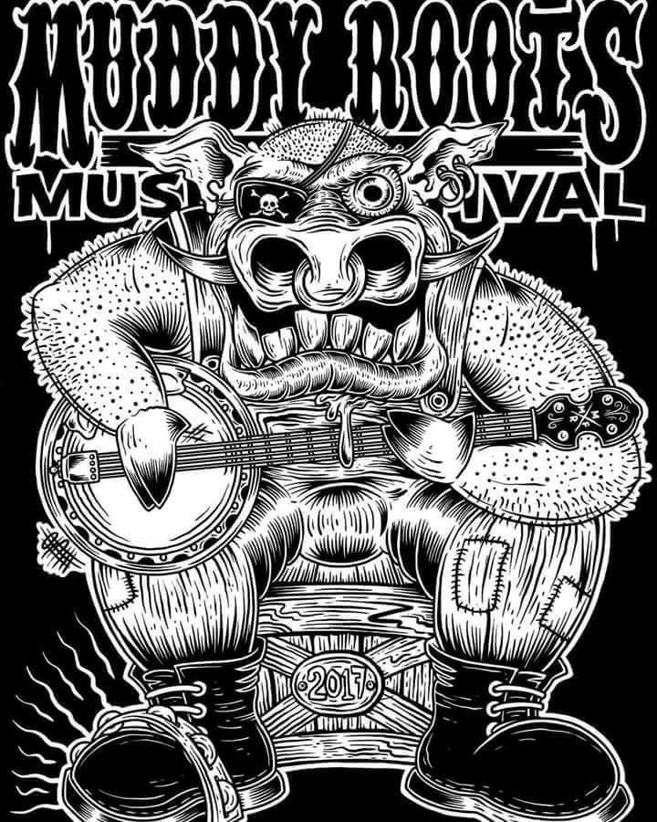 Black TarPoon @ Muddy Roots Music Festival  - Cookeville, TN