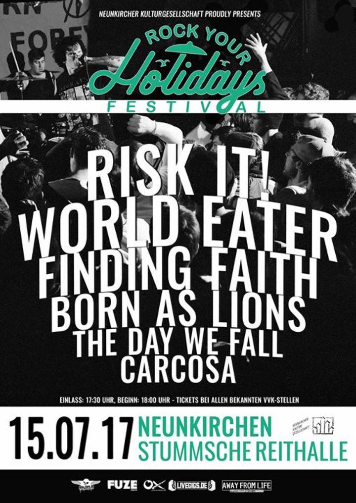 Born As Lions Tour Dates