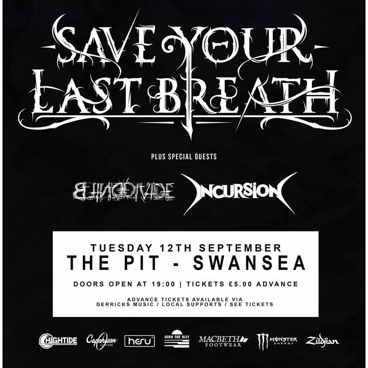 Incursion - Metal @ The Pit - Swansea, United Kingdom