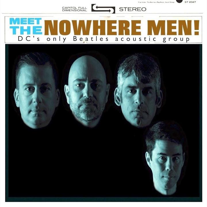 Chris DeChiara-Percussionist @ Auld Shebeen w/ Nowhere Men - Fairfax, VA