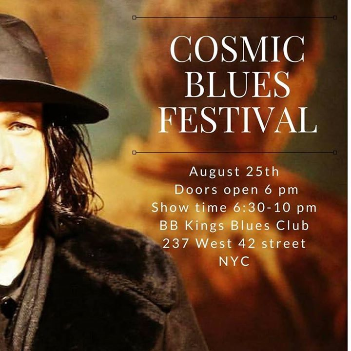 Cosmic Blues Band Tour Dates