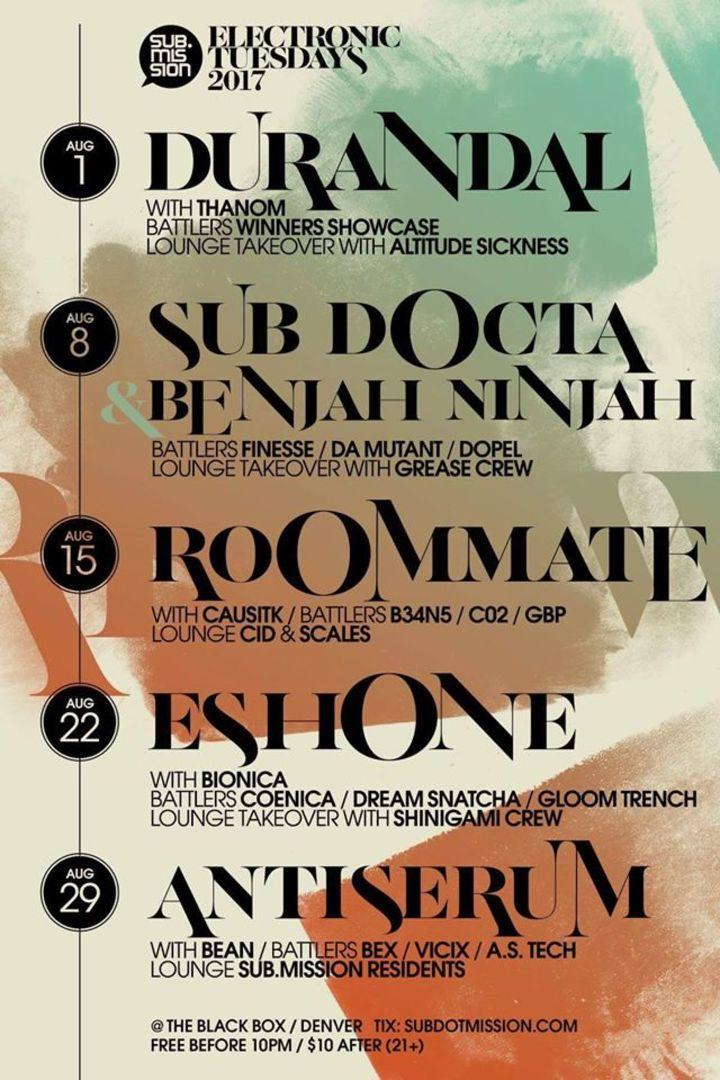 EshOne Tour Dates
