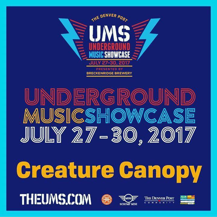 Creature Canopy @ Larimer Lounge - Denver, CO