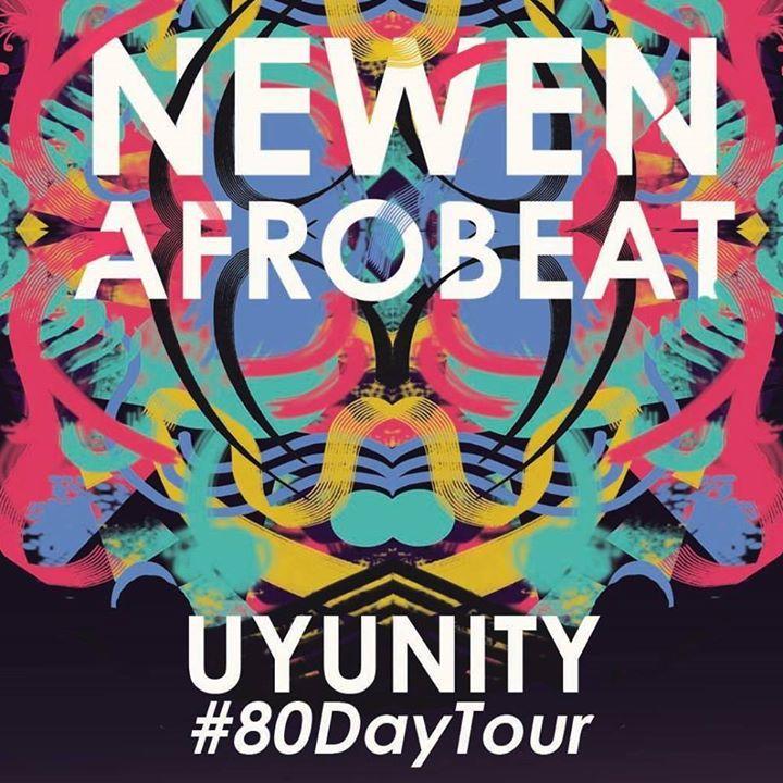 Newen Afrobeat Tour Dates