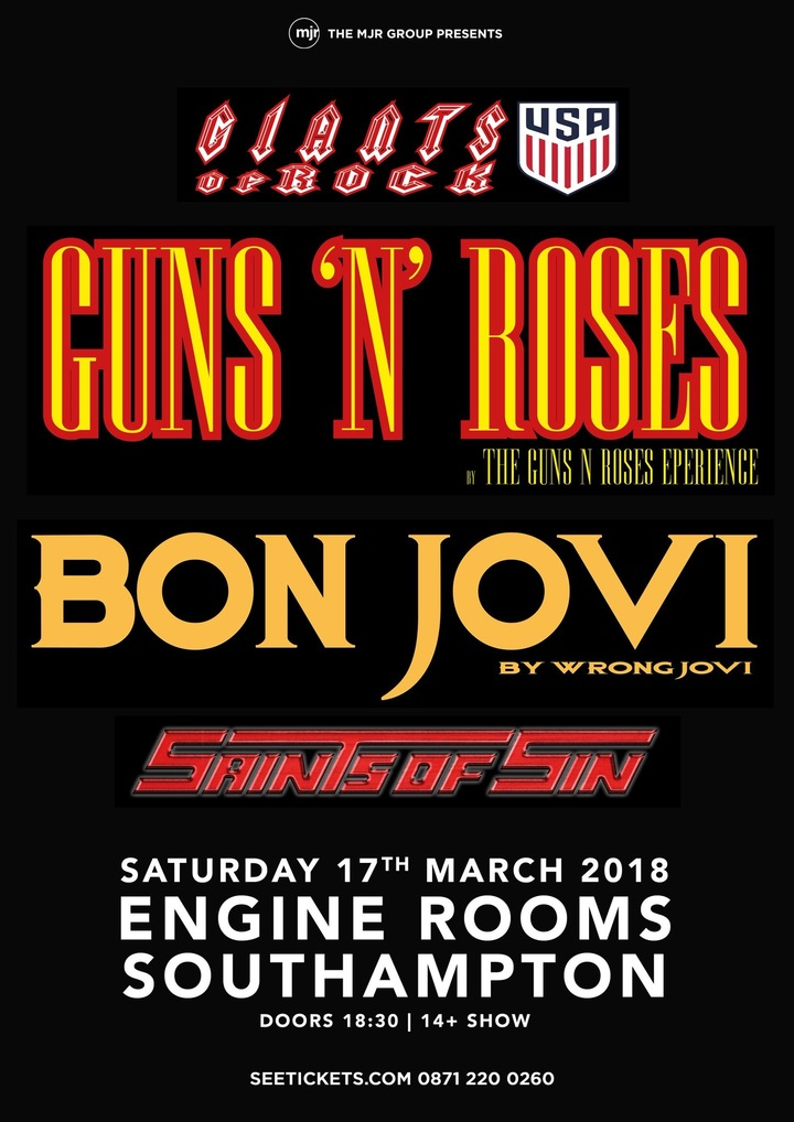 Wrong Jovi @ Engine Rooms - Southampton, United Kingdom