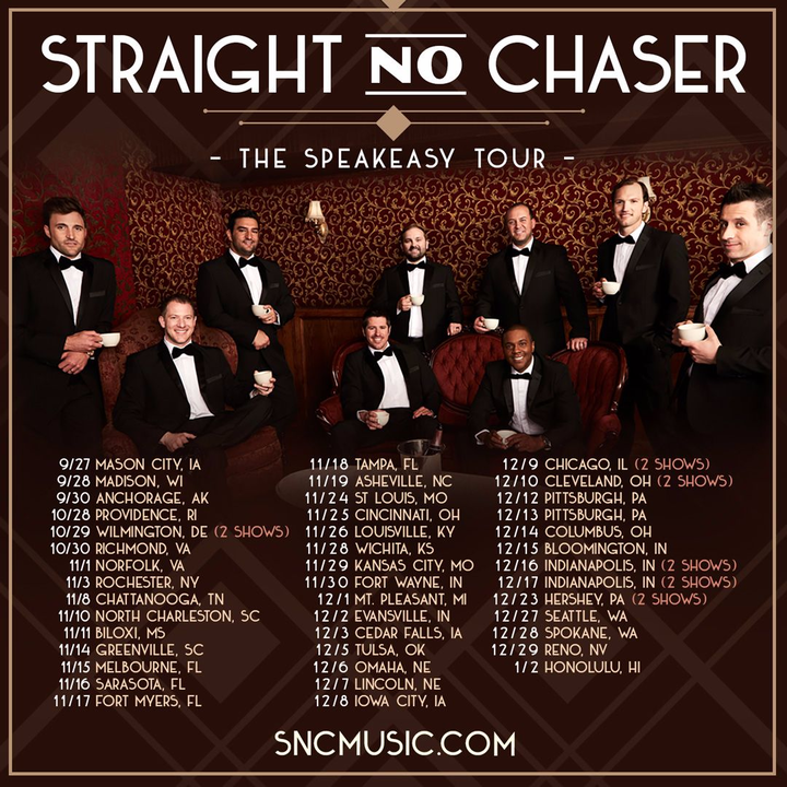 Straight No Chaser @ Civic Opera House (Evening) - Chicago, IL