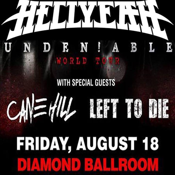LEFT to DIE (OKC) Tour Dates