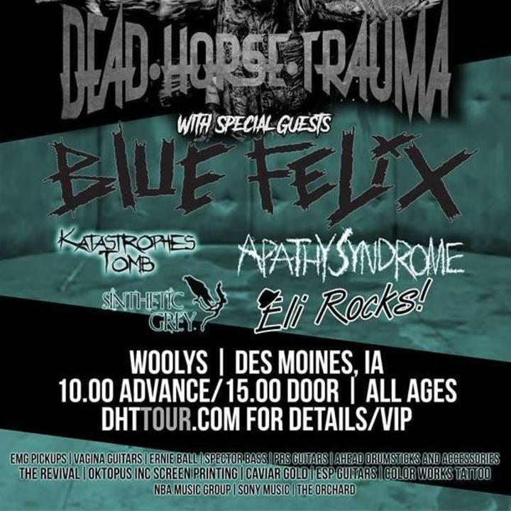 Apathy Syndrome Tour Dates
