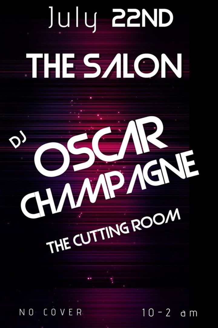 Oscar Champagne Tour Dates