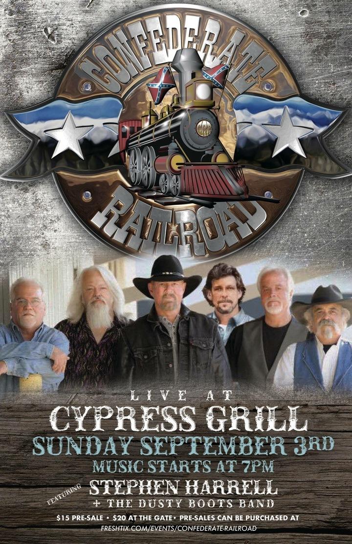 Confederate Railroad @ Cypress Grill - Cordele, GA