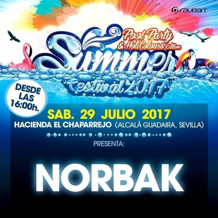 Dj Norbak Tour Dates