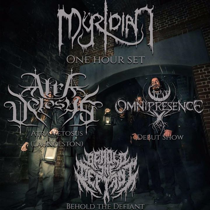 Behold The Defiant Tour Dates