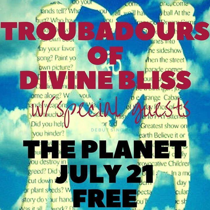 Troubadours Of Divine Bliss Tour Dates