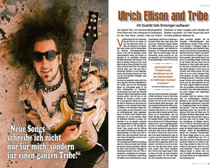 Ulrich Ellison and Tribe @ Rusty's Dinner - Grellingen, Switzerland