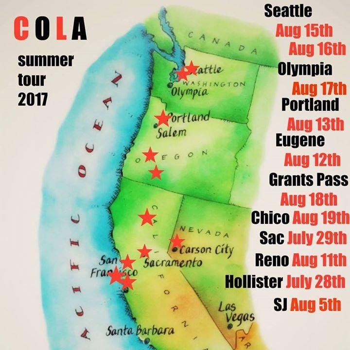 Cola @ Lo-Fi Gallery - Seattle, WA