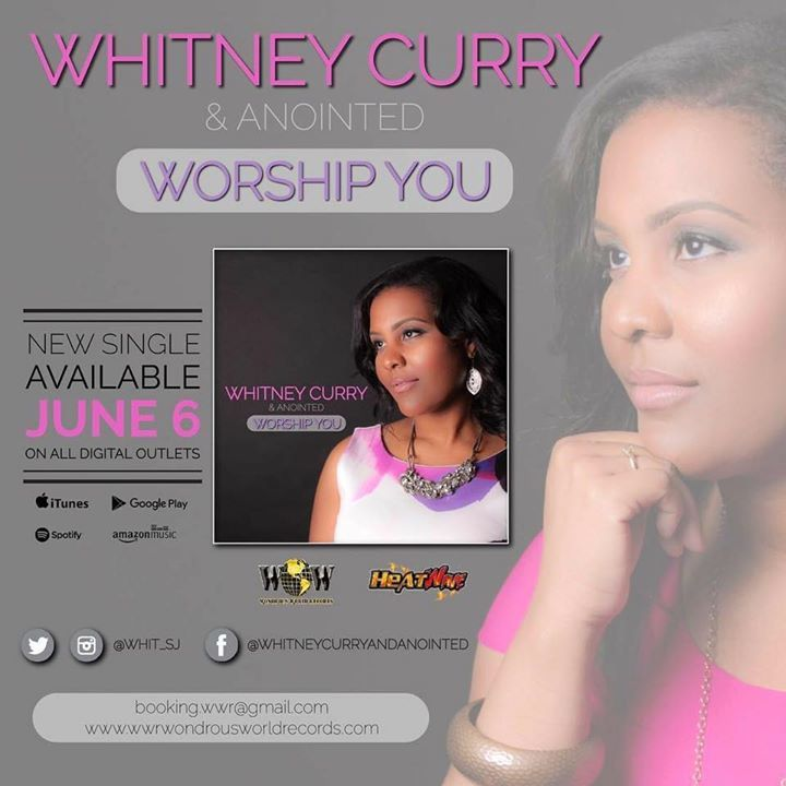 Whitney Curry and Anointed Tour Dates