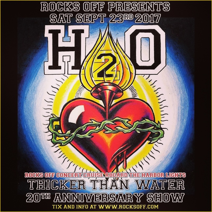 H2O @ Rocks Off Boat Cruise & Thicker Than Water 20th Anniversary Show! - New York, NY