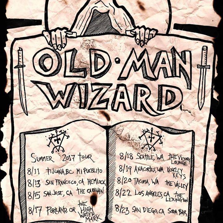 Old Man Wizard Tour Dates