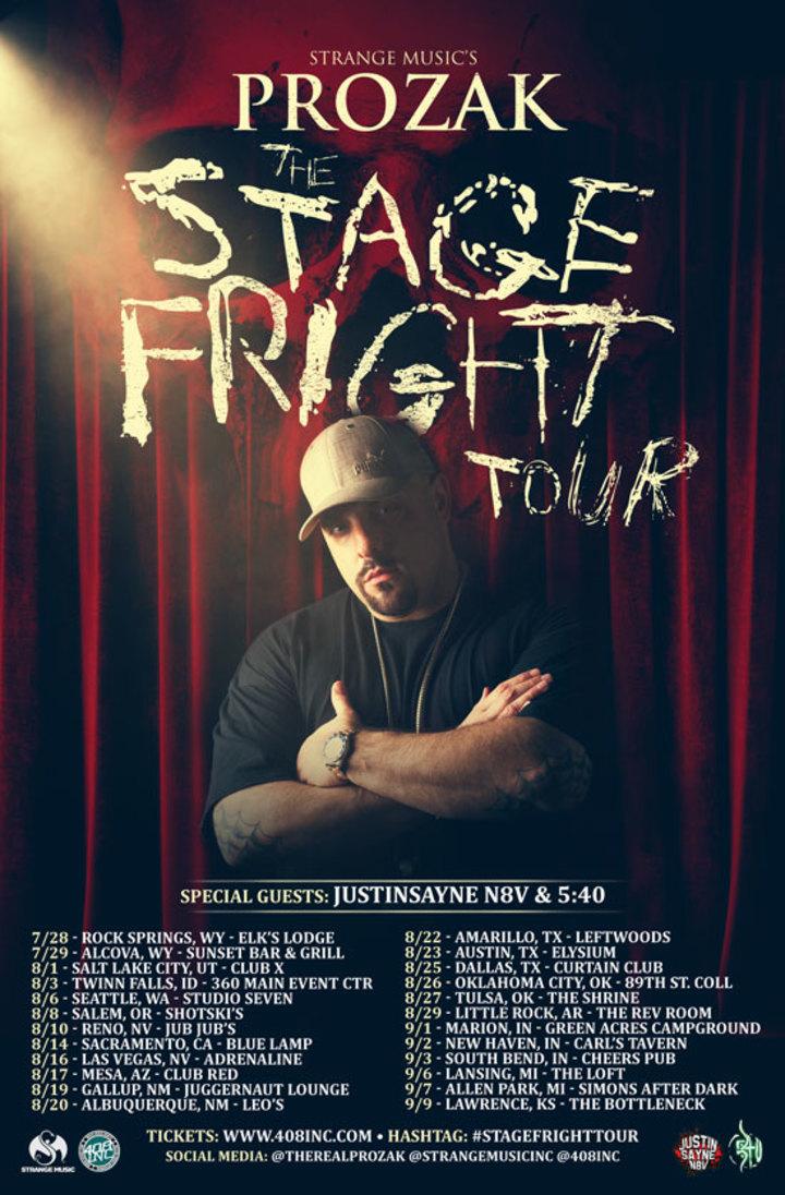 "408inc - Music Media Giants @ PROZAK ""Stage Fright Tour"" Live @ Curtain Club - Dallas, TX"