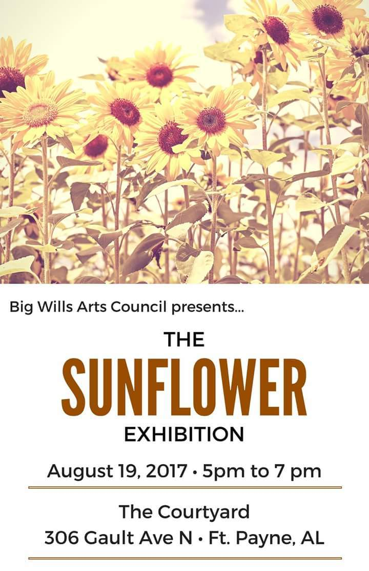 Russell Gulley @ DeKalb Theater Courtyard/The Sunflower Exhibition - Fort Payne, AL