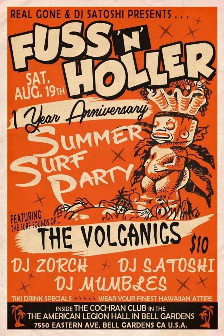 The Volcanics @ Fuss N Holler @ The Cochran Club - Bell Gardens, CA