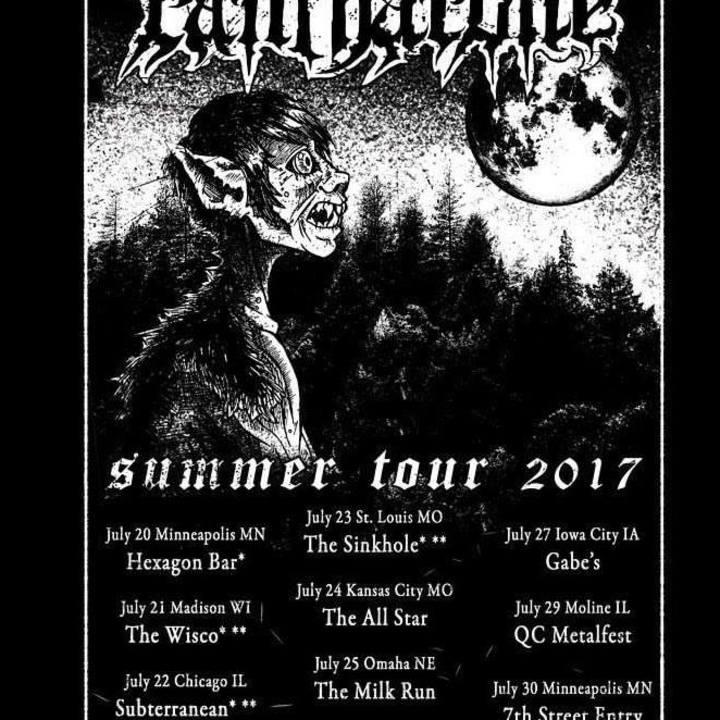 Oxblood Tour Dates