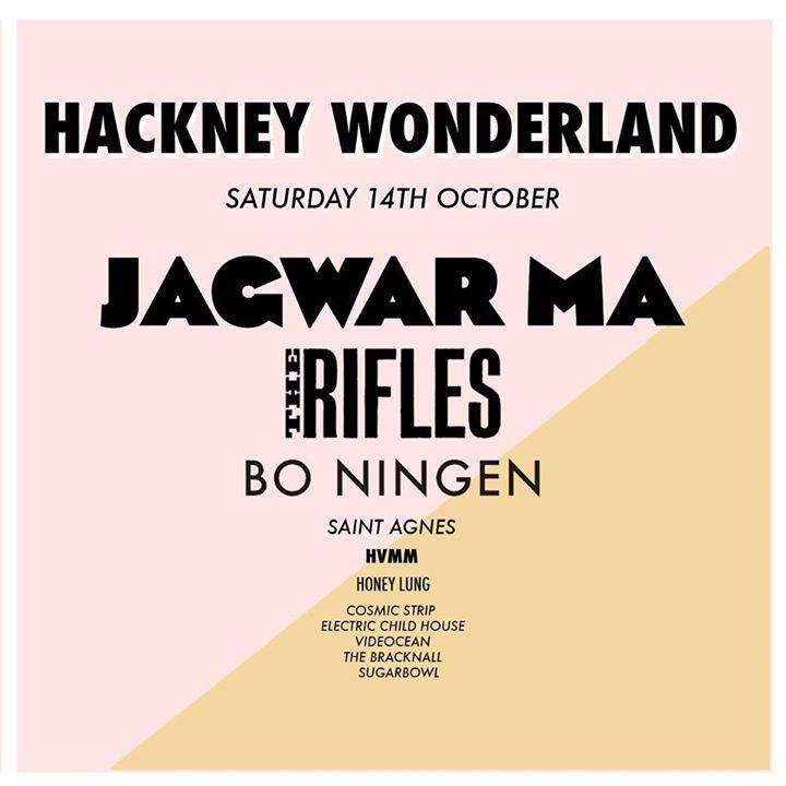 Hackney Wonderland Tour Dates