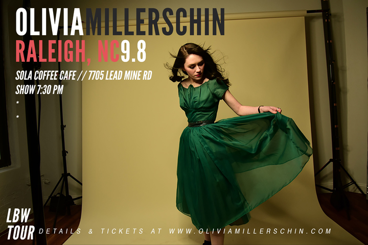 Olivia Millerschin @ Sola Coffee Cafe - Raleigh, NC