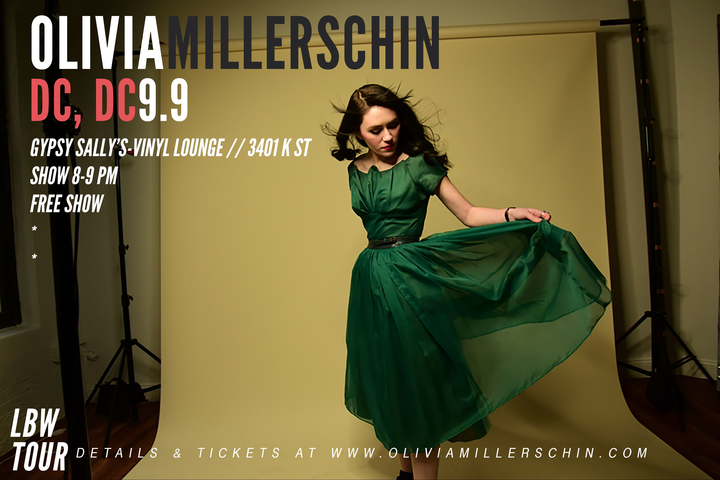 Olivia Millerschin @ Gypsy Sally's Vinyl Lounge - Washington, DC