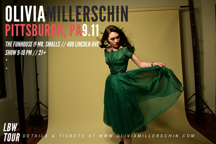 Olivia Millerschin @ The Funhouse at Mr. Small's - Pittsburgh, PA