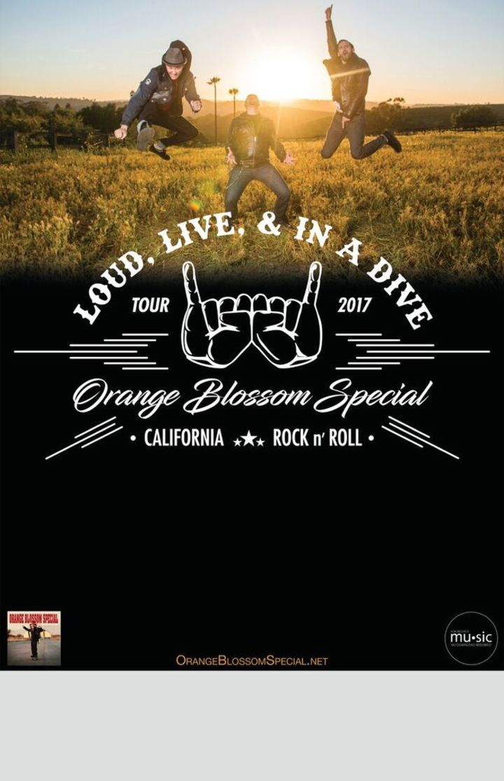 Orange Blossom Special @ Double Down Saloon w/Big Monsta - Las Vegas, NV