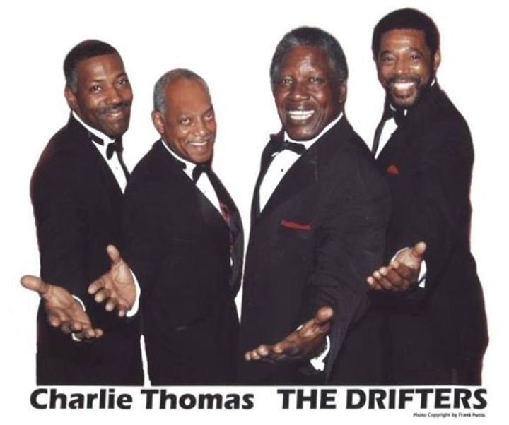 Charlie Thomas' Drifters @ Tilles Center Concert Hall - Brookville, NY
