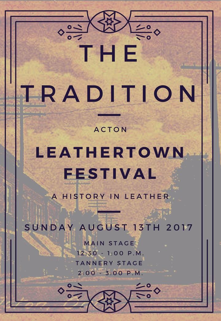 The Tradition @ Acton Leathertown Festival - Halton Hills, Canada