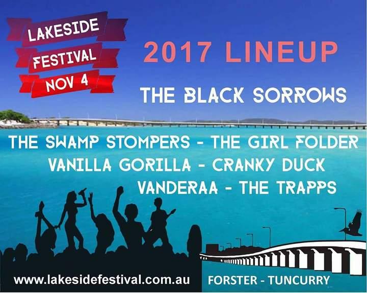 Cranky Duck @ Lakeside Festival - Tuncurry, Australia