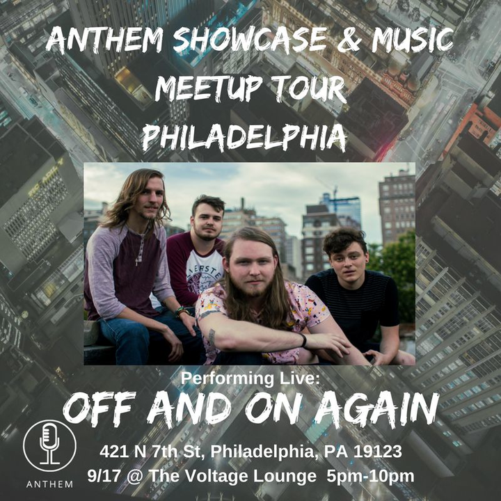 Off And On Again @ Voltage Lounge  - Philadelphia, PA