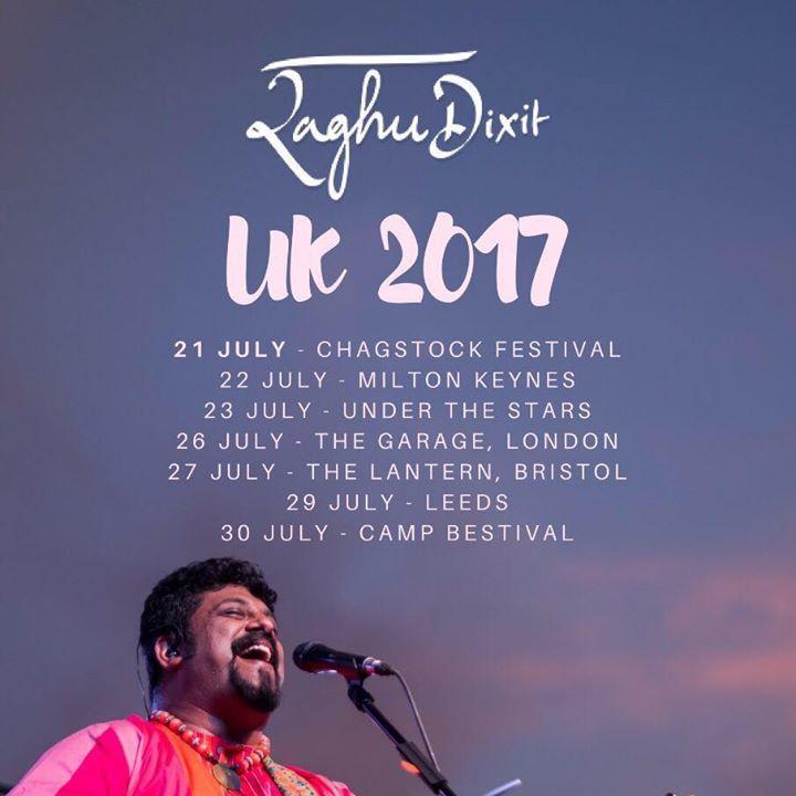 The Raghu Dixit Project Tour Dates