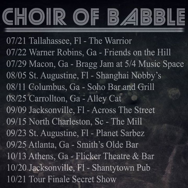CHOIR OF BABBLE @ Flicker Theatre & Bar - Athens, GA