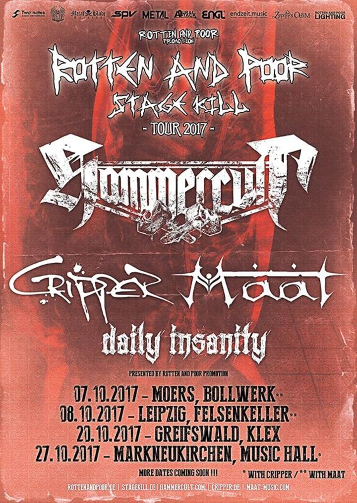 Cripper @ MTC - Cologne, Germany