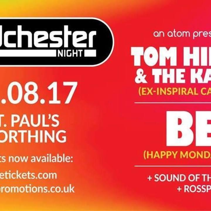 Tom Hingley Tour Dates