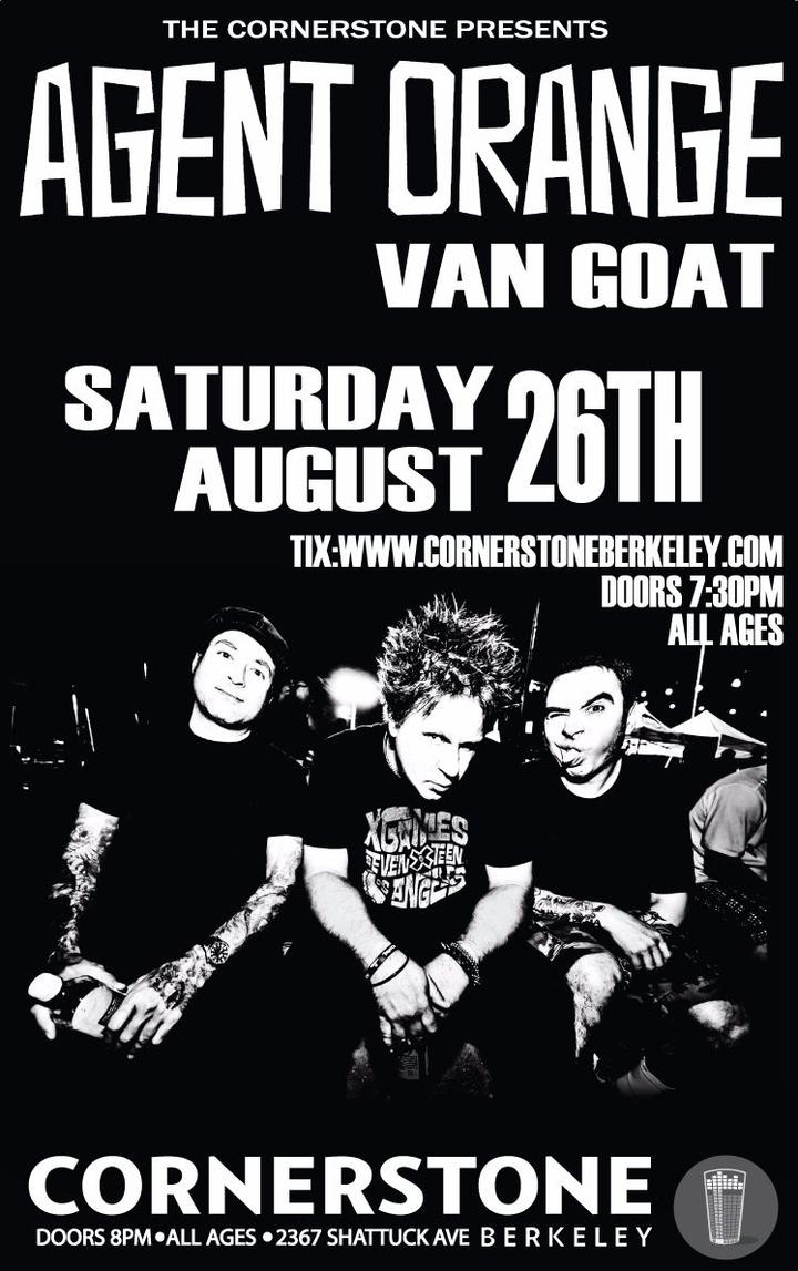 Van Goat @ Cornerstone - Berkeley, CA