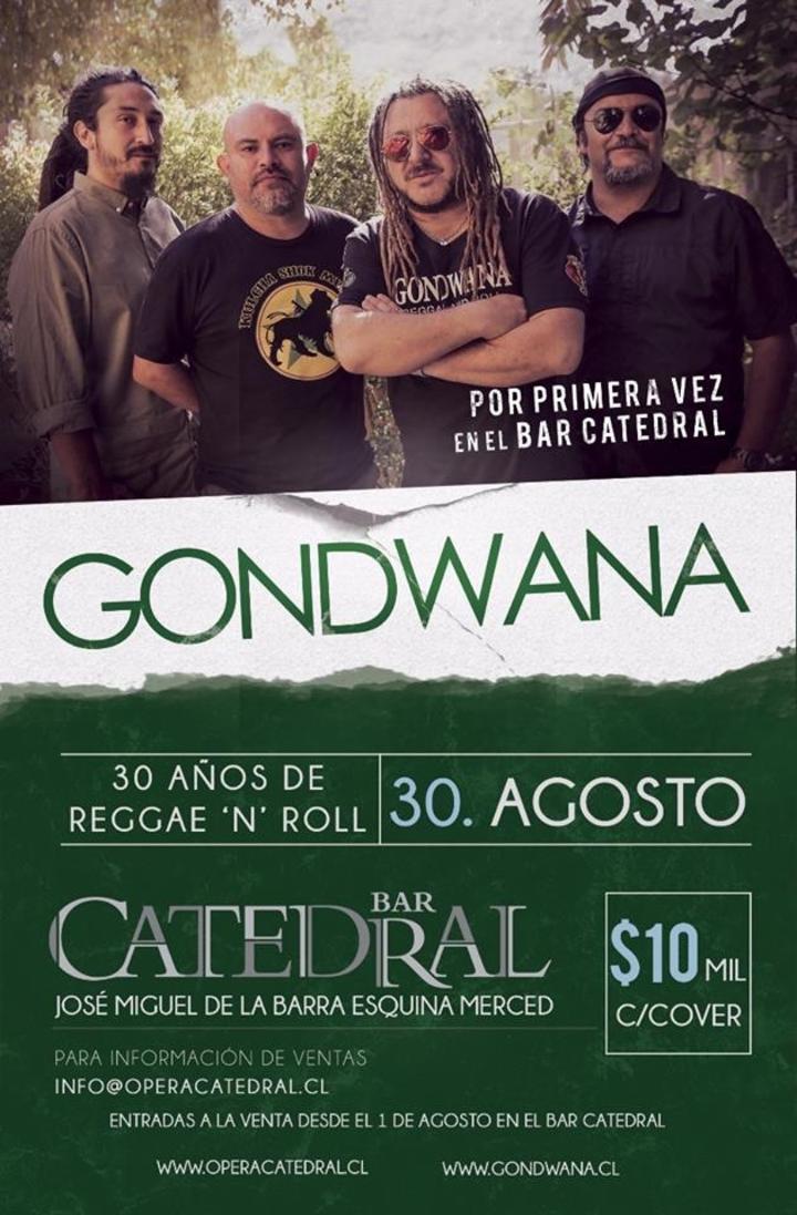 GONDWANA @ Opera Catedral - Santiago, Chile