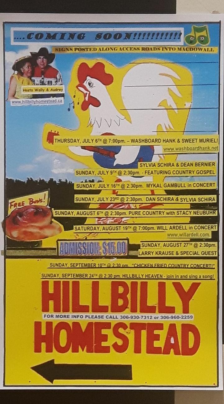 Black Mountain Social Media & Promo's @ Hillbilly HomeStead - Macdowall, Canada