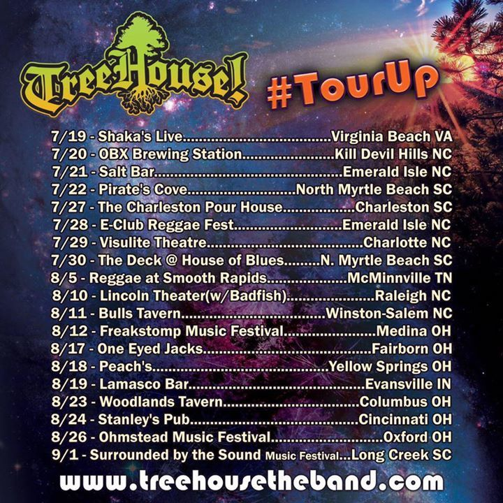 TreeHouse! Tour Dates