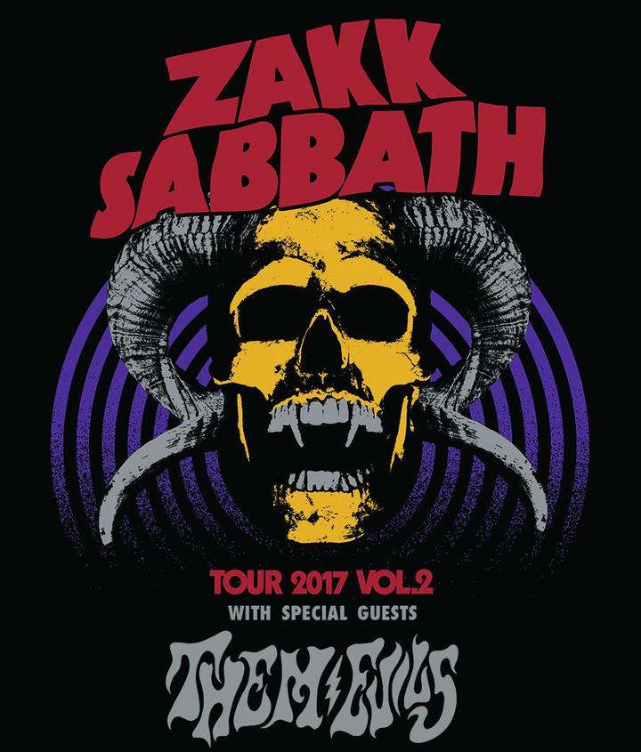 Zakk Sabbath Tour Dates
